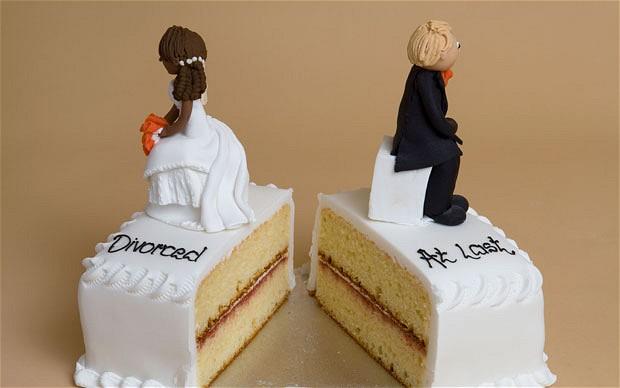Divored cake topper