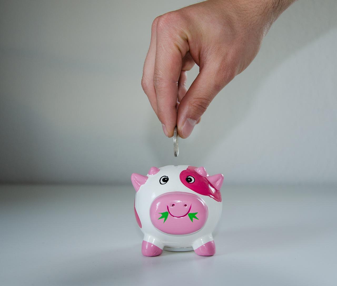 Saving in a Piggy Bank